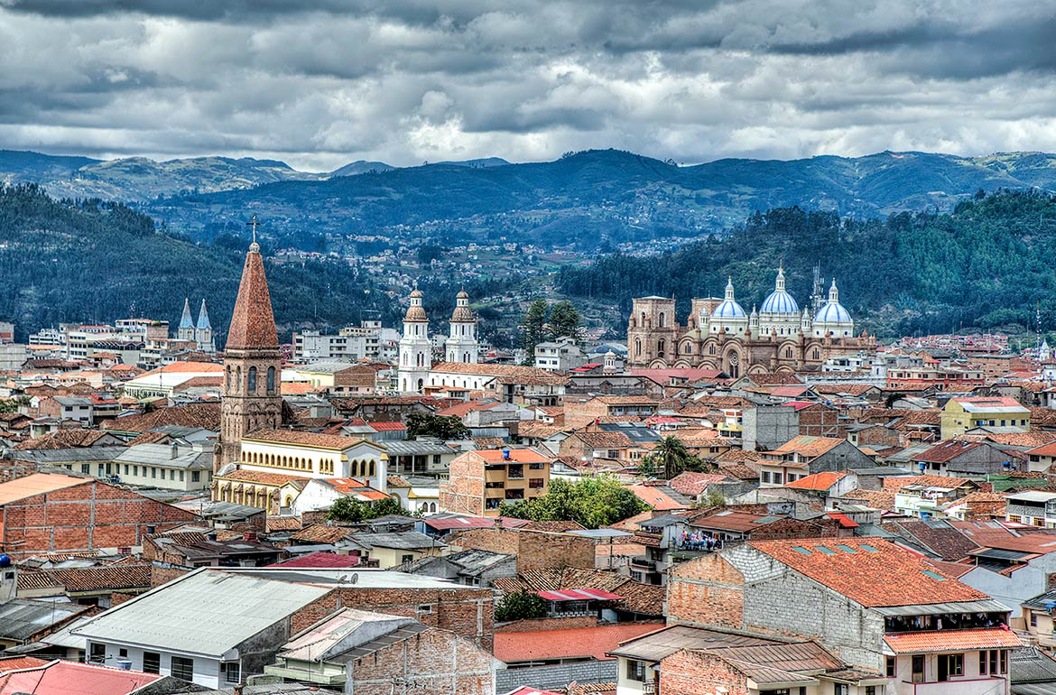 Historic center of Cuenca, Ecuador