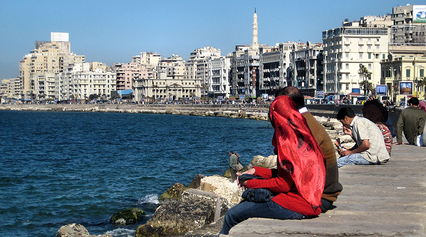 Google Map Of Alexandria Egypt Nations Online Project