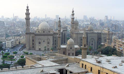 Cairo Mosque Sultan Hassan and Mosque Al Rifai, Egypt