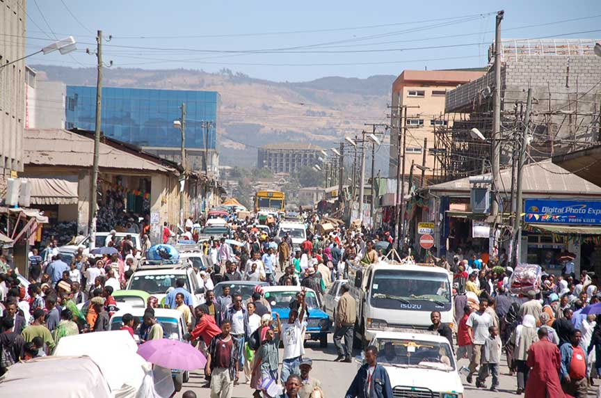 Google map of addis ababa nations online project street in addis abeba ethiopia gumiabroncs Images