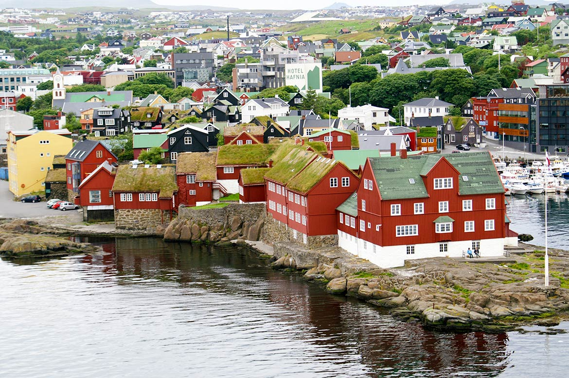 Tórshavn, capital of the Faroe Islands