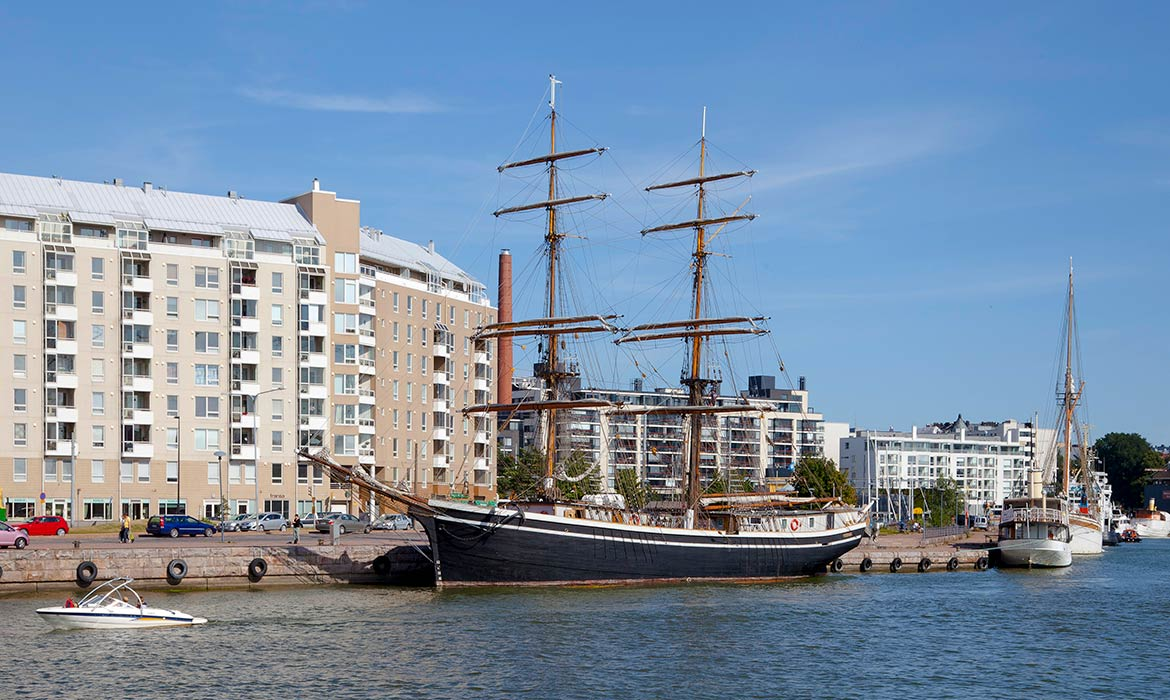 West Harbour, Jätkäsaari district, Helsinki
