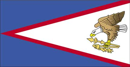 Samoa On The Map, American Samoa Flag, Samoa On The Map