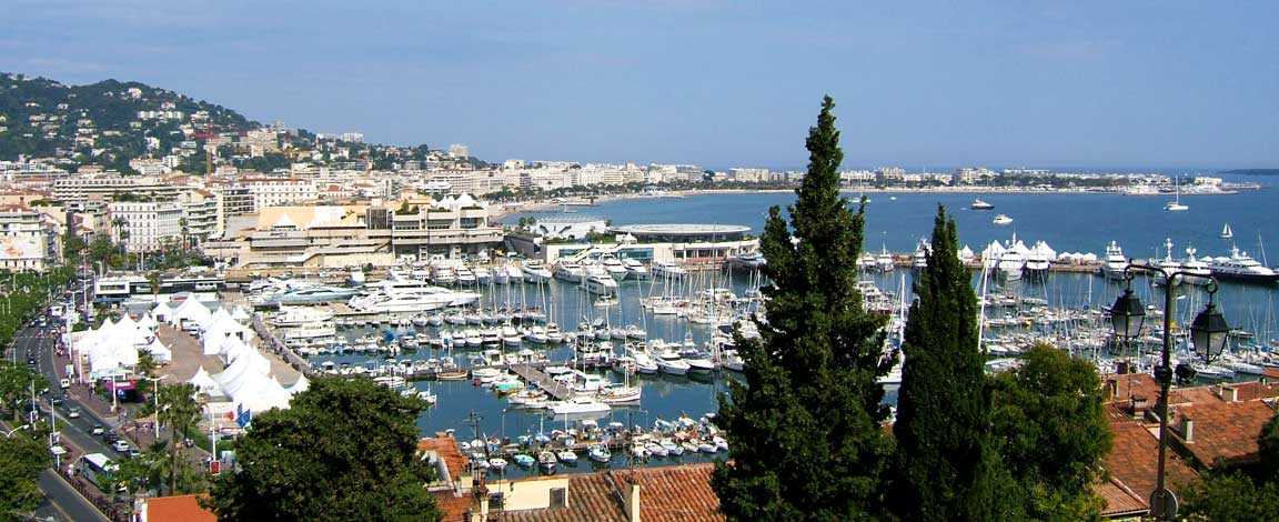 Google Map of Cannes France Nations Online Project