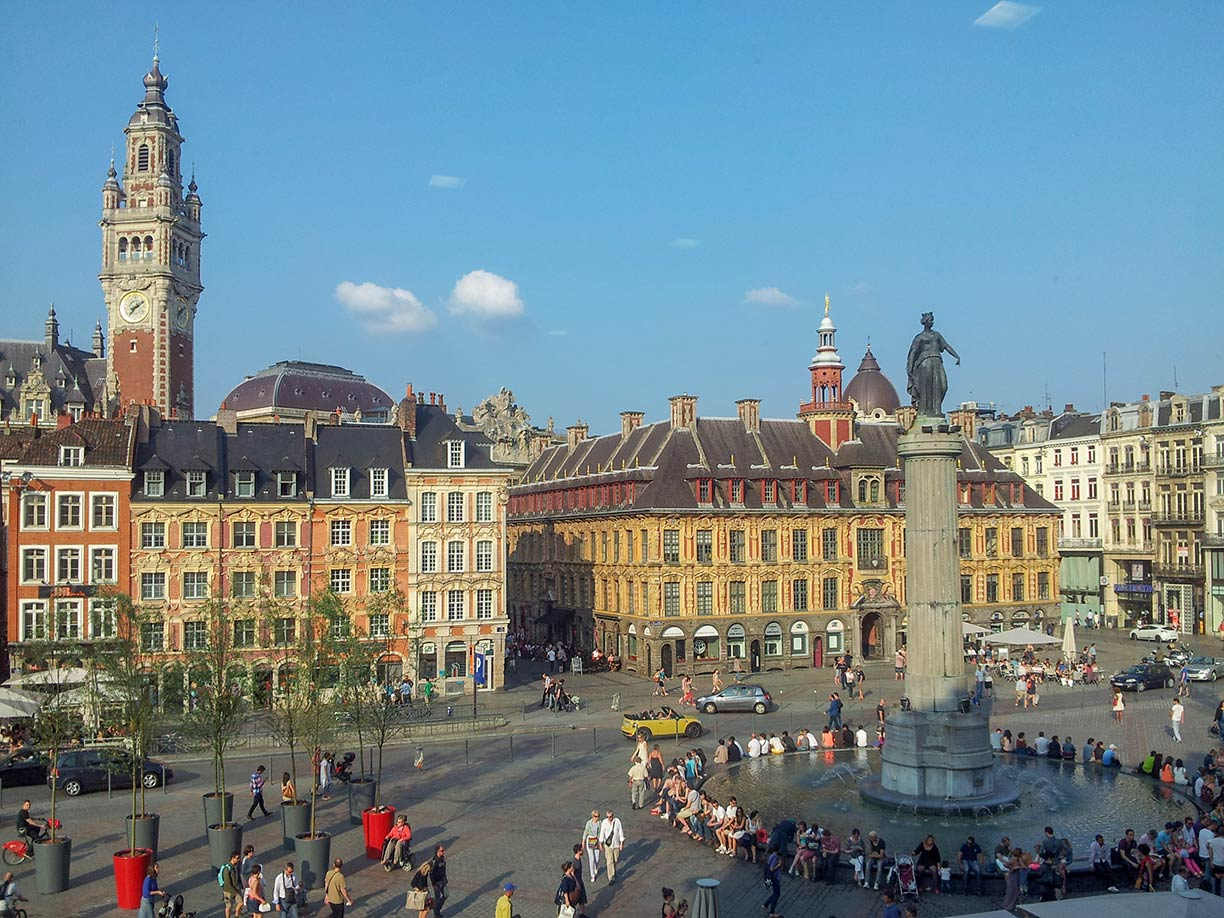 Google Map of Lille France Nations Online Project