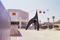 Theatre and a Sculpture of Miro, Nice