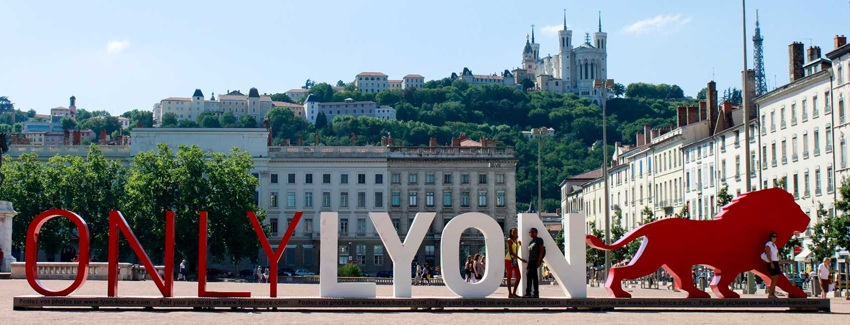 Only Lyon  - installation on Place Bellecour, Lyon. Image: Jean-baptiste Duville