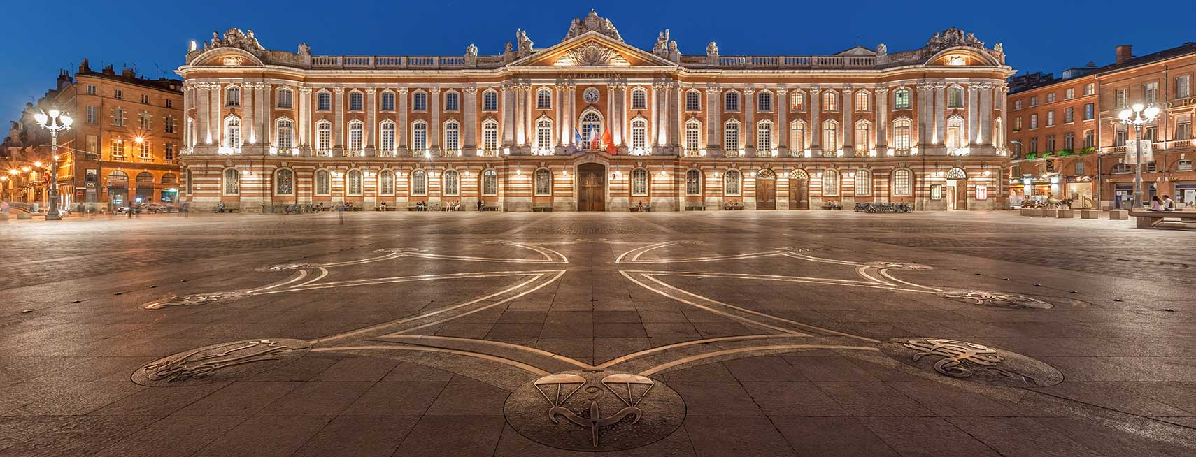 Capitole of Toulouse and Place du Capitole, Toulouse, France