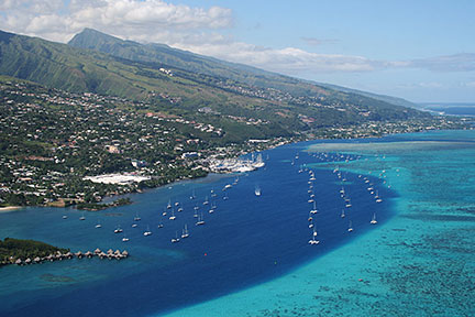 Google Map of Papeete, Tahiti, French Polynesia - Nations Online Project
