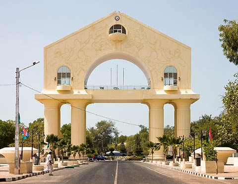 Arch 22 in Banjul, The Gambia