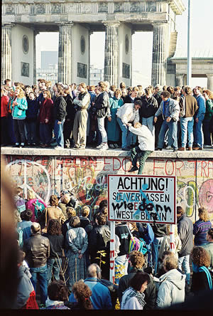 Fall of he Berlin Wall