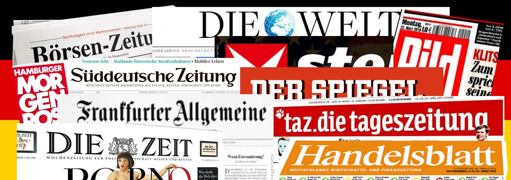 German Newspapers Online News From Germany Nations Online Project