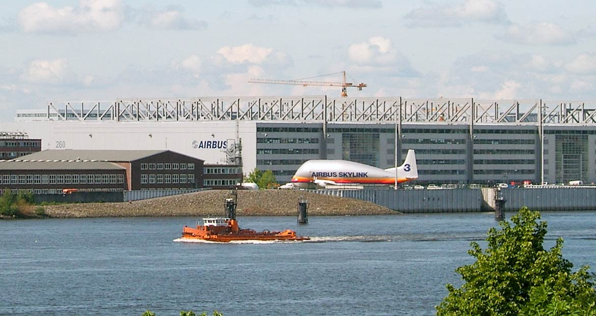 Airbus Group Hamburg, Finkenwerder