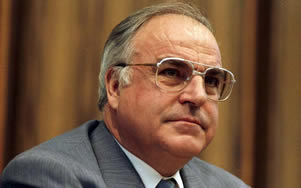 Helmut Kohl, German statesman; former chancellor of the Federal Republic of Germany