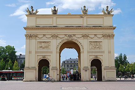 Brandenburger Tor a Potsdam City-Gate