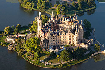 Google Map of Schwerin, Germany - Nations Online Project