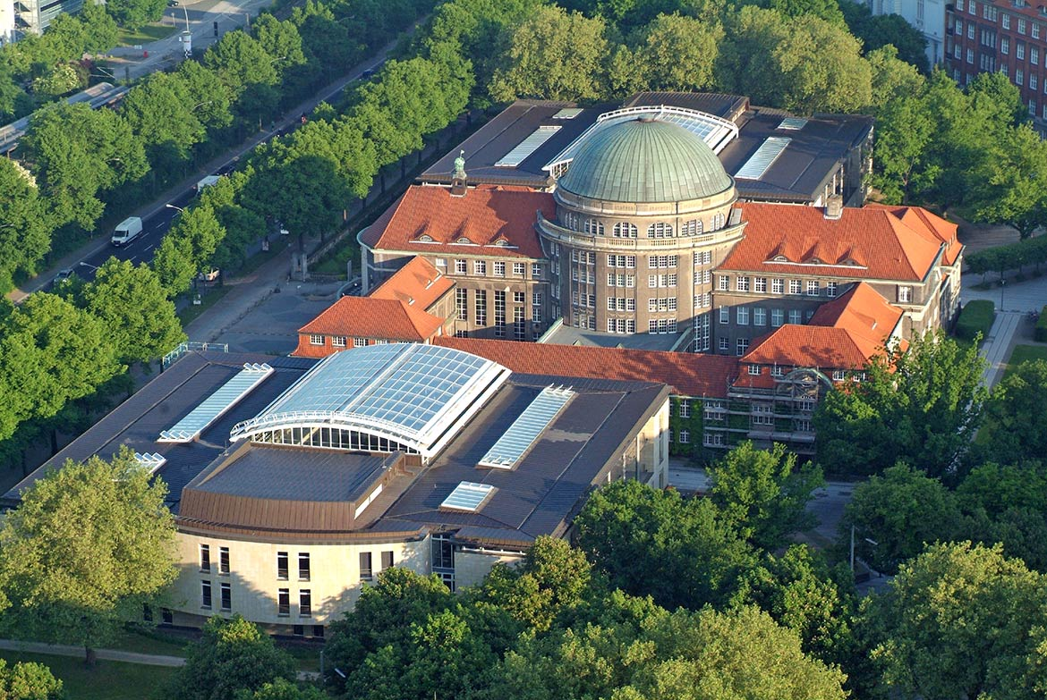University of Hamburg main building, HH, Germany