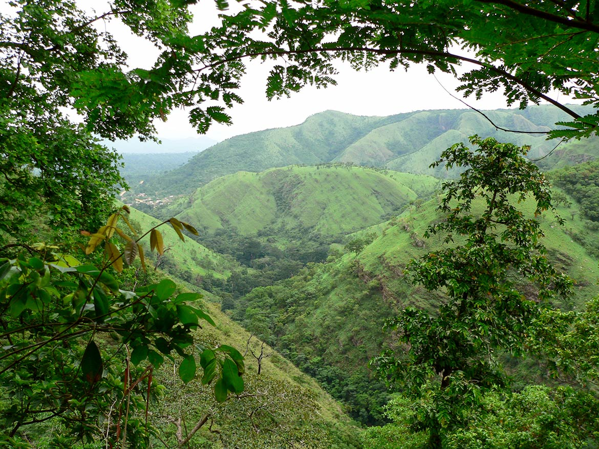 Highlands in Ghana's westen region