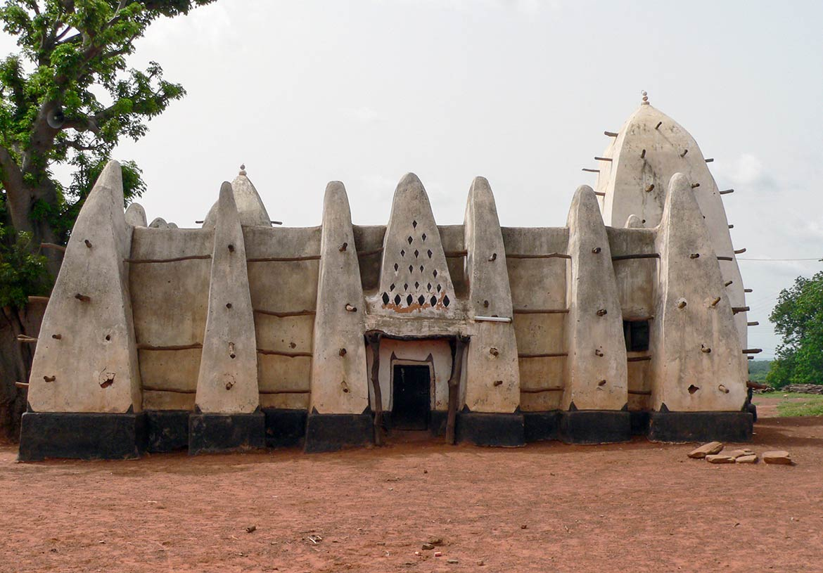 Sahelian mosque in Larabanga in West Gonja district, Ghana