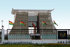 Presidental Palace in Accra