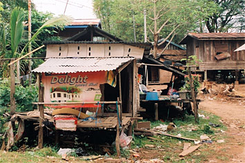substandard housing, Lao