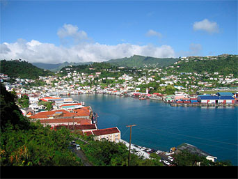 Google Map Of Grenada Nations Online Project - Grenada maps with countries