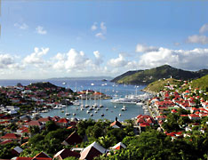 Port of Gustavia on St. Barthélemy