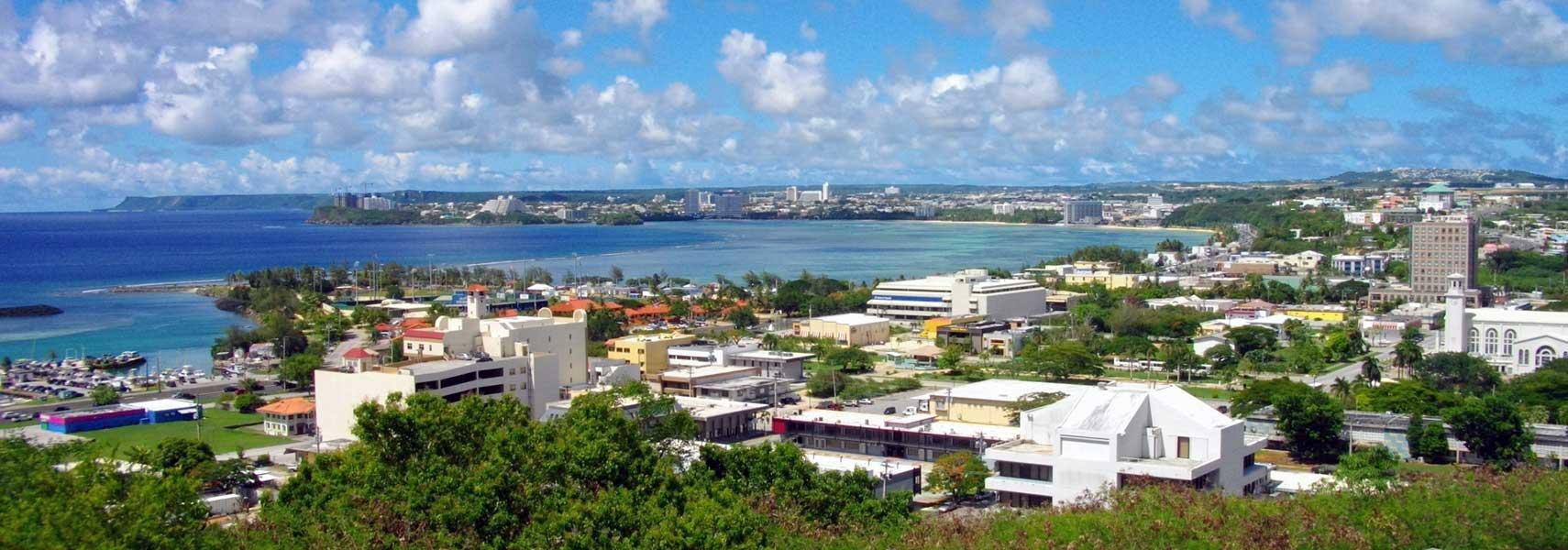 Google Map of Hagåtña, (Hagatna) Guam - Nations Online Project