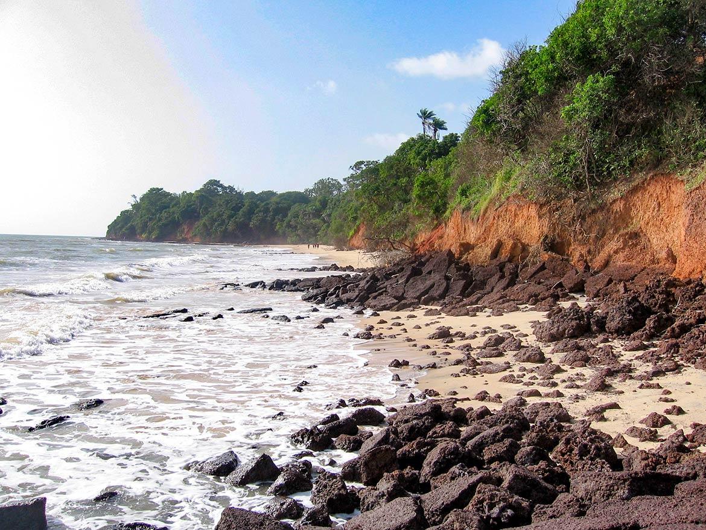 Varela beach Guinea-Bissau