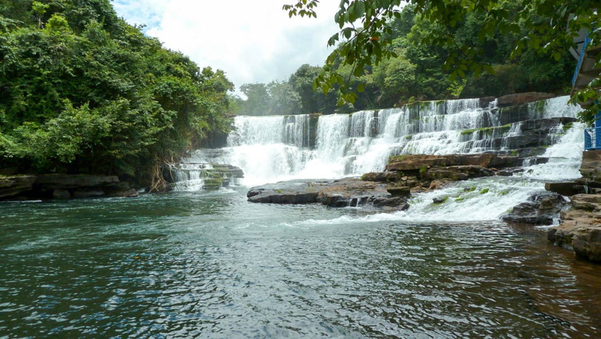 Soumba waterfalls at Dubreka near Conakry, Guinea