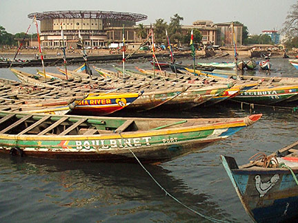 Fishing boats, Conakry