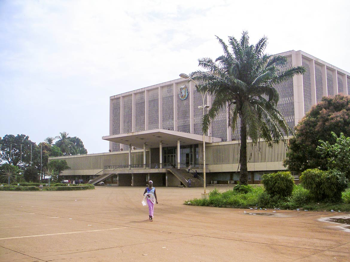 Palais du Peuple (Palace of the People) in Conakry, capital city of Guinea