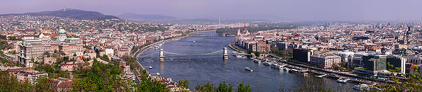 Google Map of Budapest, Hungary - Nations Online Project