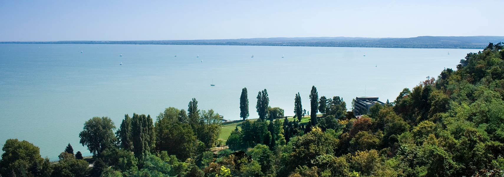 Lake Balaton at Tihany, Hungary