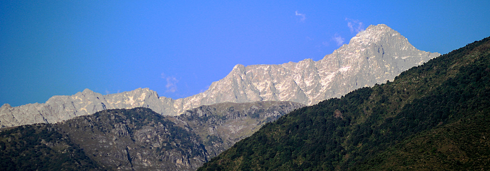 Dhauladhar mountain range, Himachal Pradesh, India