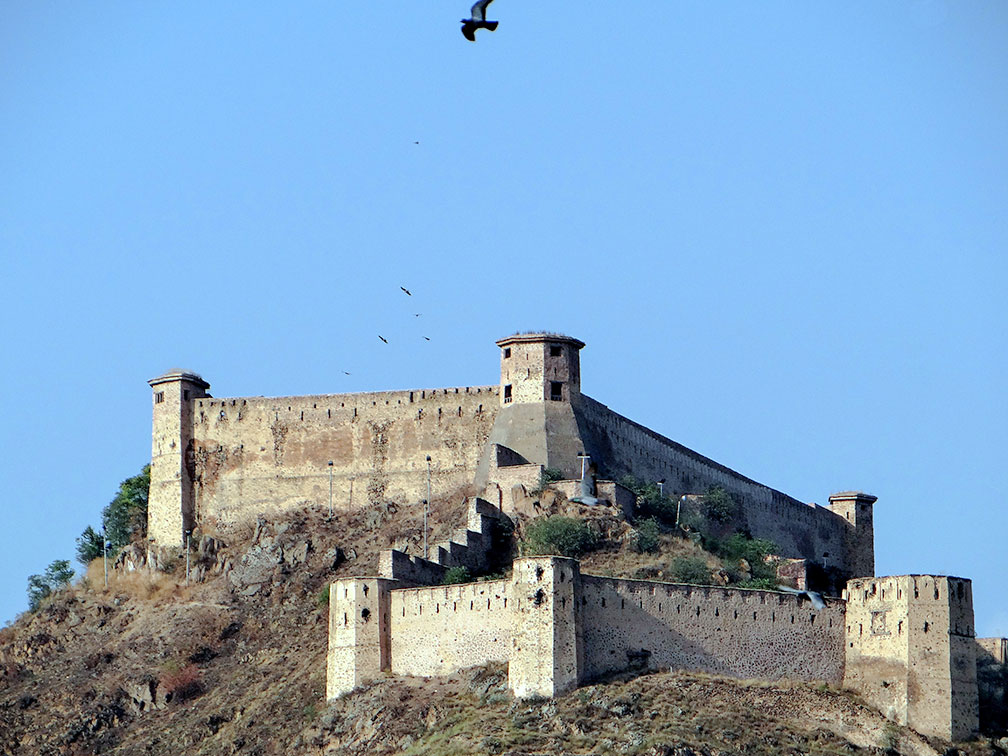 Hari Parbat (Koh-e-Maran) hill and fort, Srinagar, Jammu & Kashmir, India