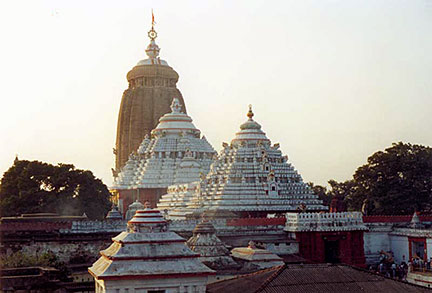 Jagannath Temple in Puri, Odisha, India