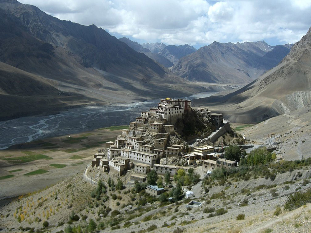 Key Gompa monastery, Spiti Valley