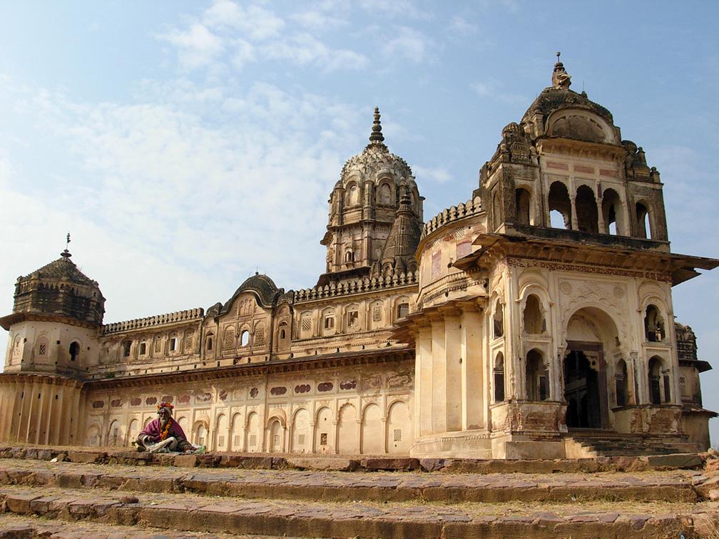 Lakshmi Temple in Orchha, Madhya Pradesh