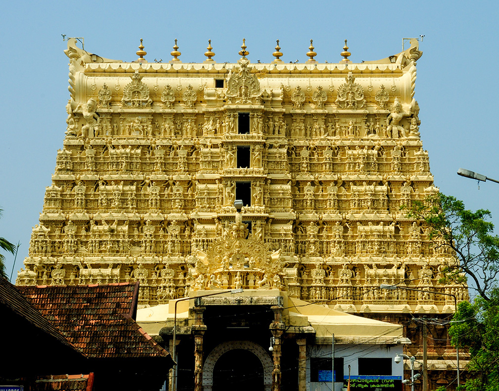 Padmanabhaswamy Temple in Thiruvananthapuram, Kerala's capital