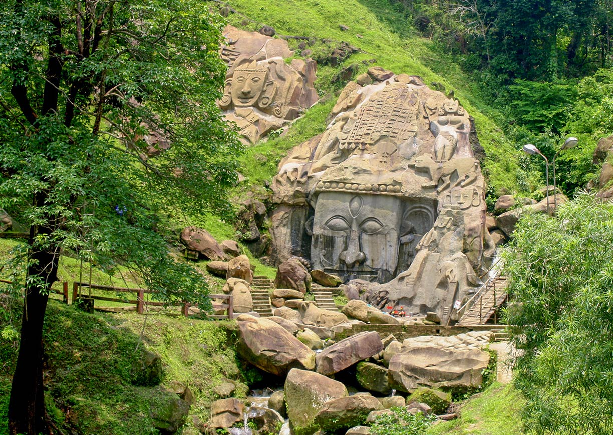 Unakoti, the ancient Shaivite place of worship in Tripura, India