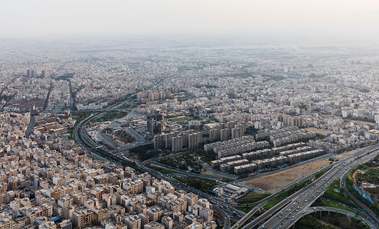 Western suburbs of Tehran Iranu0027s capital city