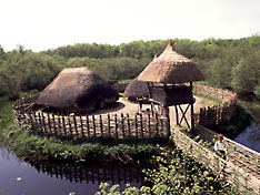 Crannog-Lake Dwelling, Ireland
