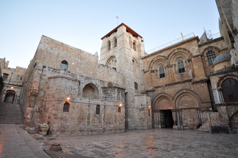 Church of the Holy Sepulchre in Old Jerusalem