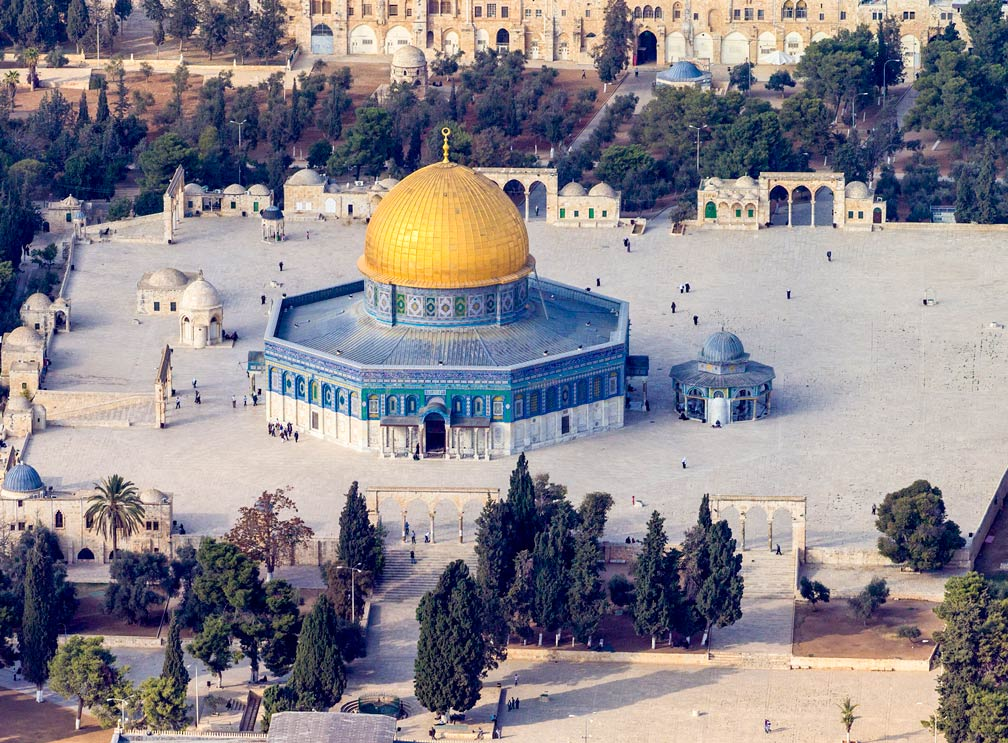 Famous Landmarks Satellite View Of Temple Mountnoble Sanctuary