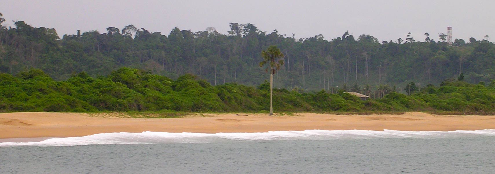 Beach in San Pédro, Ivory Coast