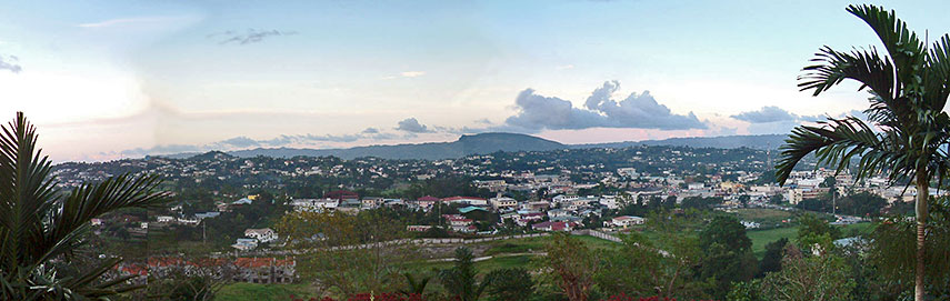 Mandeville Panorama view