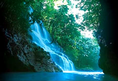 Land of Wood and Water, Jamaica waterfall and river