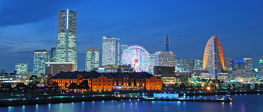 Google Map Of The City Of Yokohama Japan Nations Online Project - Japan map yokohama tokyo