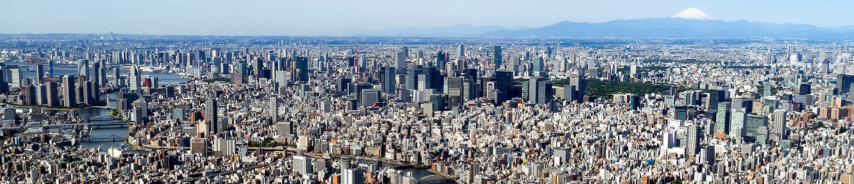 Panorama of Tokyo-from SkyTree